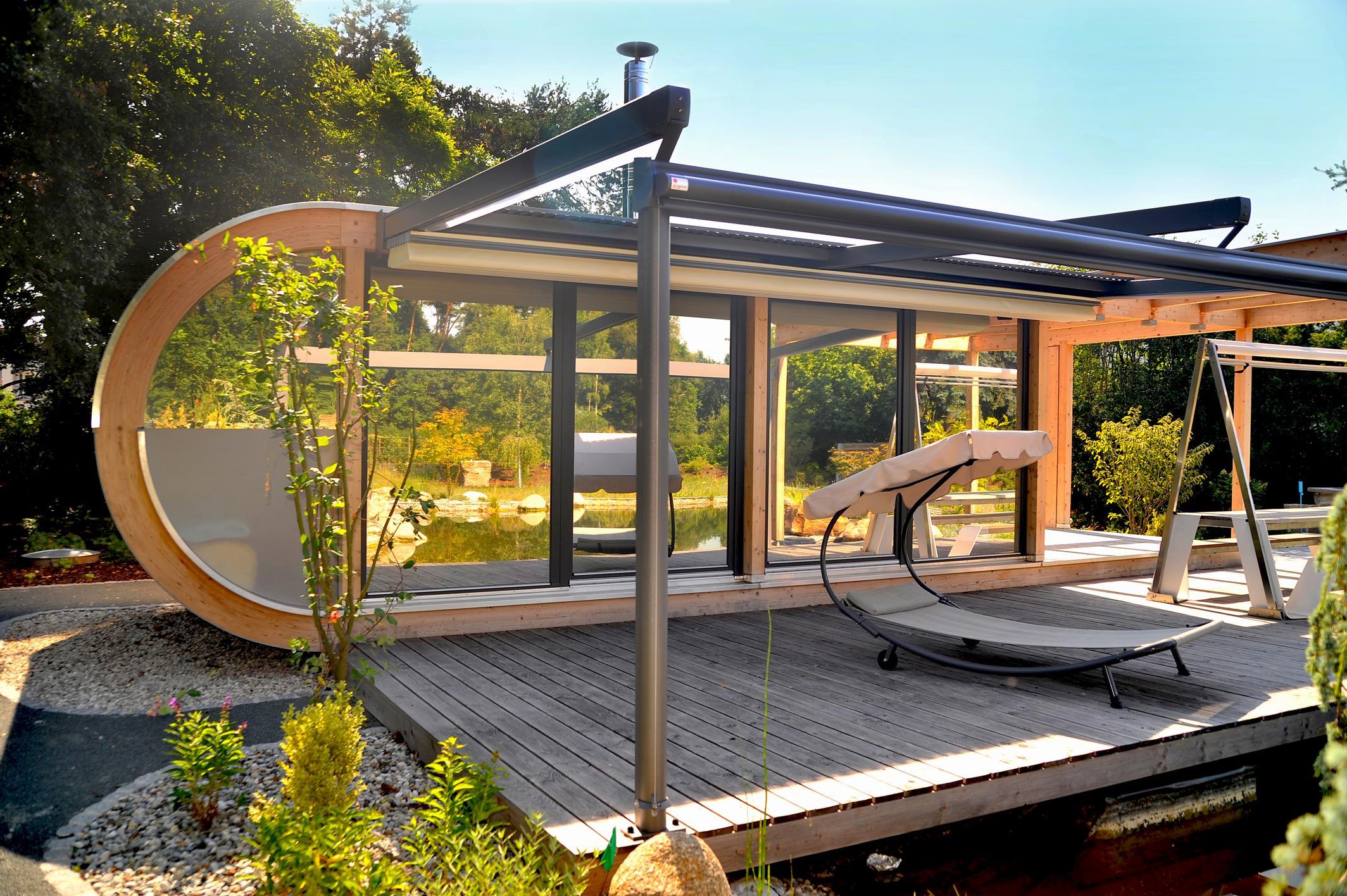 luxus gartenhaus in erlangen werner ettwein gmbh. Black Bedroom Furniture Sets. Home Design Ideas