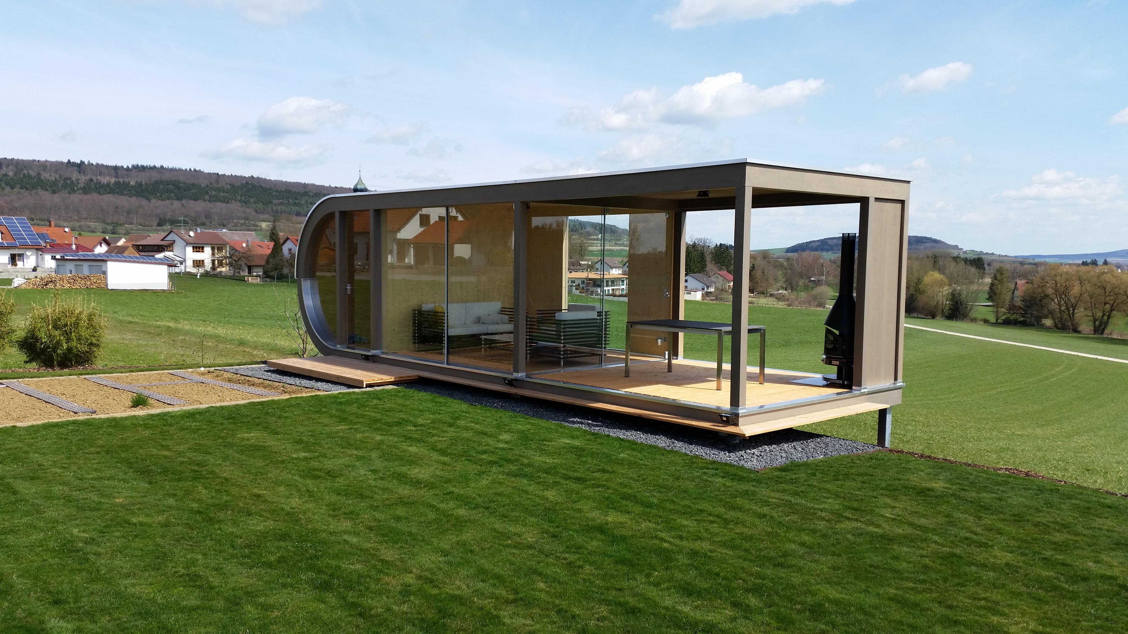 Awesome Gartenhaus Design Flachdach Pictures - Einrichtungs ...