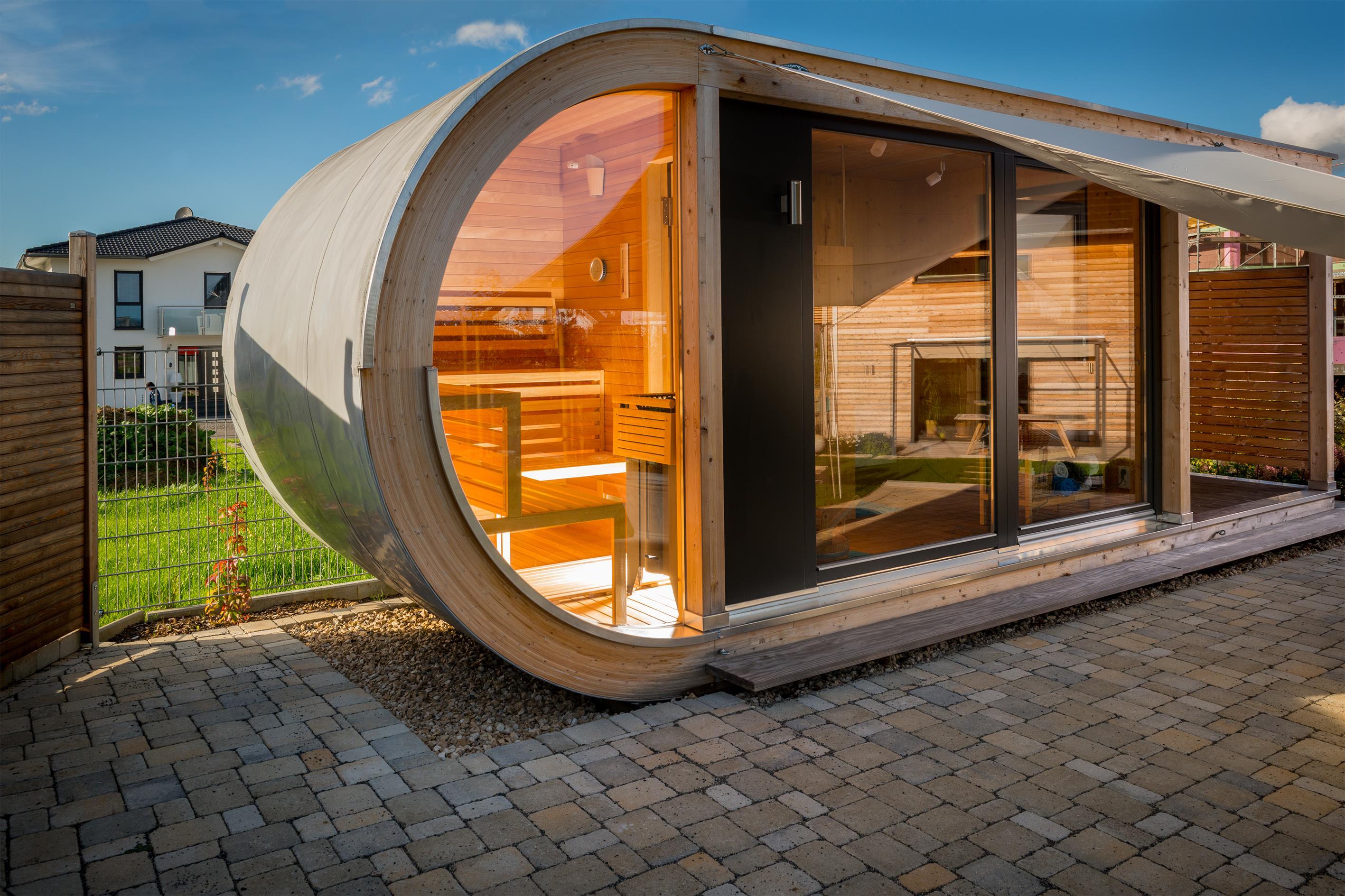 wellness gartenhaus in haigerloch werner ettwein gmbh. Black Bedroom Furniture Sets. Home Design Ideas